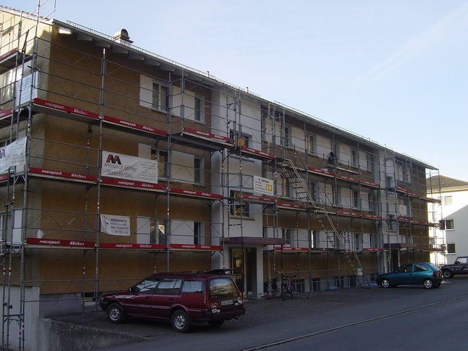 Fassadensanierung Seestrasse 59/61