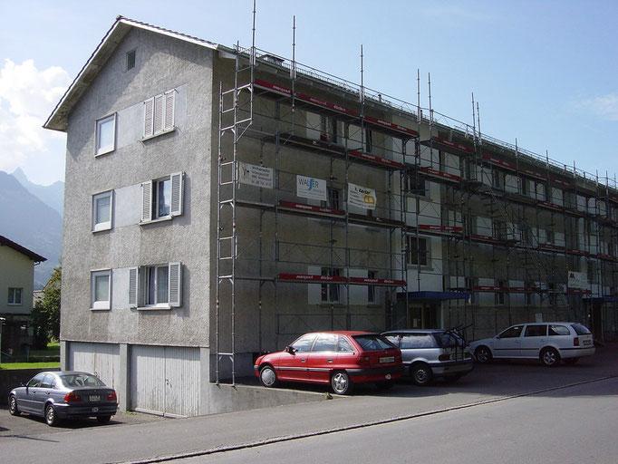 Fassadensanierung Seestrasse 55/57