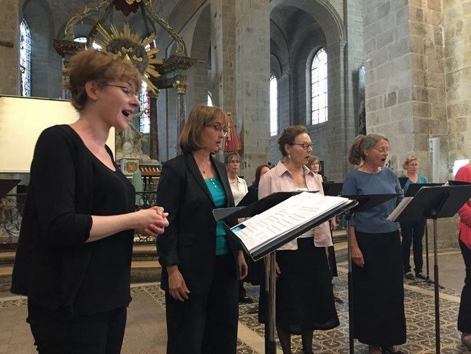 Anne-Marie Hue-Concé pour de magnifiques chants médiévaux
