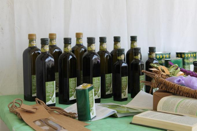 Agosto:Olio in esposizione per la festa della Chianina