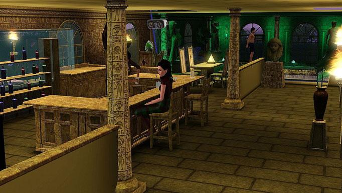 Therme, ägyptische Bar