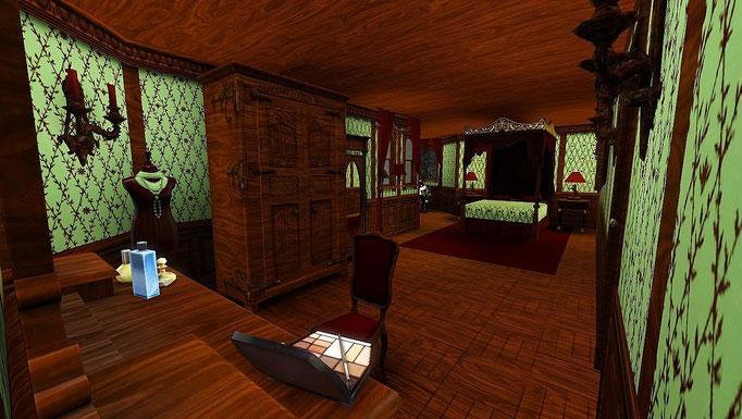 """Highland Castle"", Schlafzimmer"