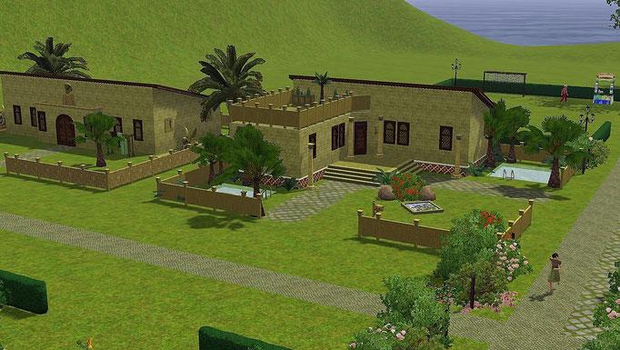 ägyptische Häuser