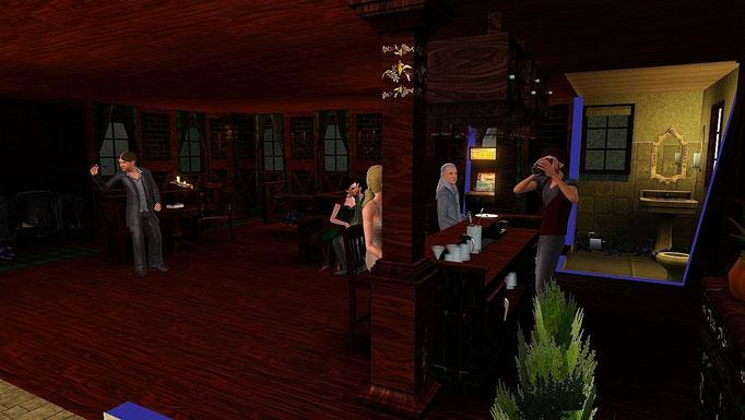 schottischer Pub am Hafen