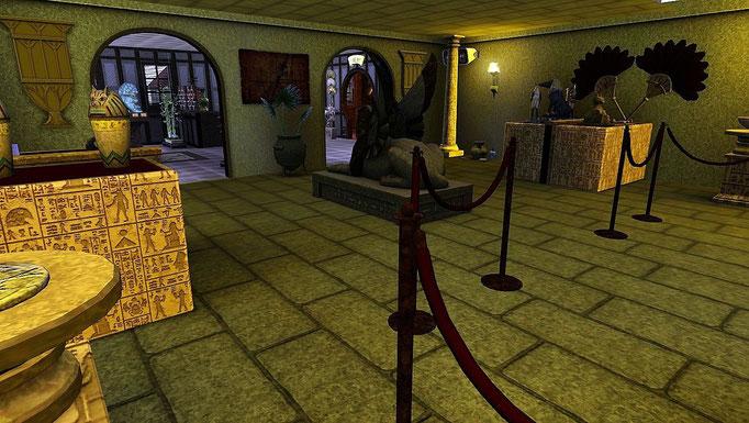 Rathaus, ägyptische Sammlung