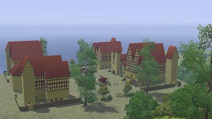 Blick vom Hochland auf die Altstadt