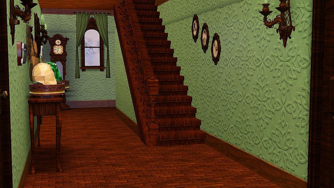 """Highland Castle"", Flur unten"