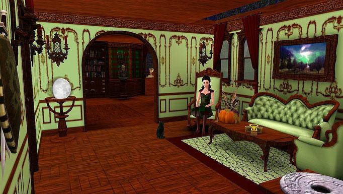 """""""Highland Castle"""", Wohnzimmer"""