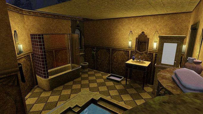 """Highland Castle"", Badezimmer"