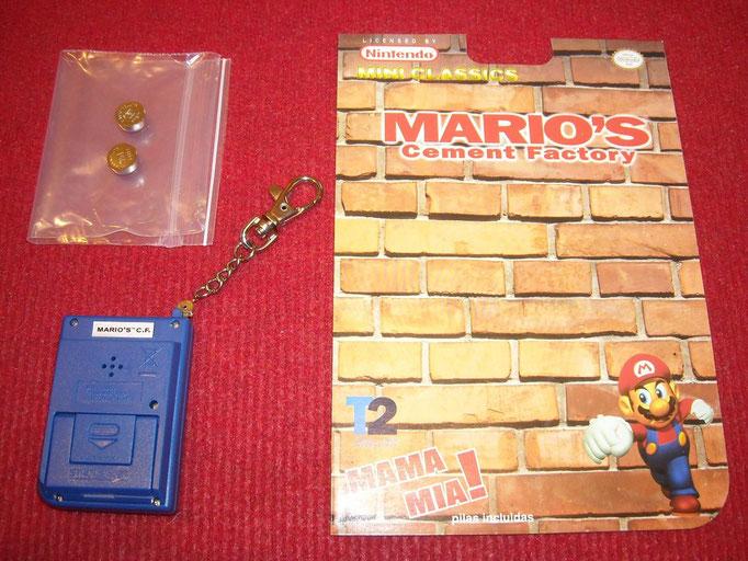Contenido del blister del Mario's Cement Factory