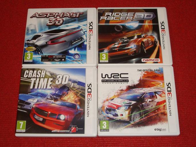 Mis videojuegos de coches para la Nintendo 3DS (1)