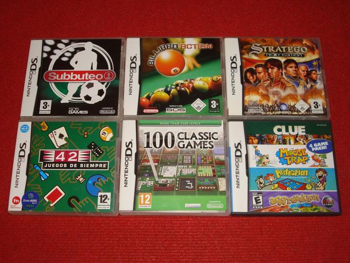 Mis videojuegos de tablero para la Nintendo DS