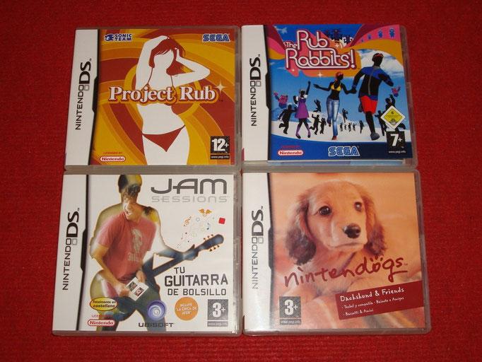 Mis videojuegos de entretenimiento para la Nintendo DS
