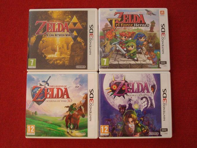 """Mis videojuegos """"The Legend of Zelda"""" para la Nintendo 3DS"""
