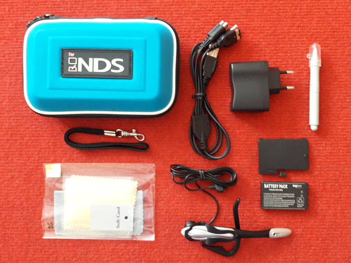 Accesorios extras de mi Nintendo DS