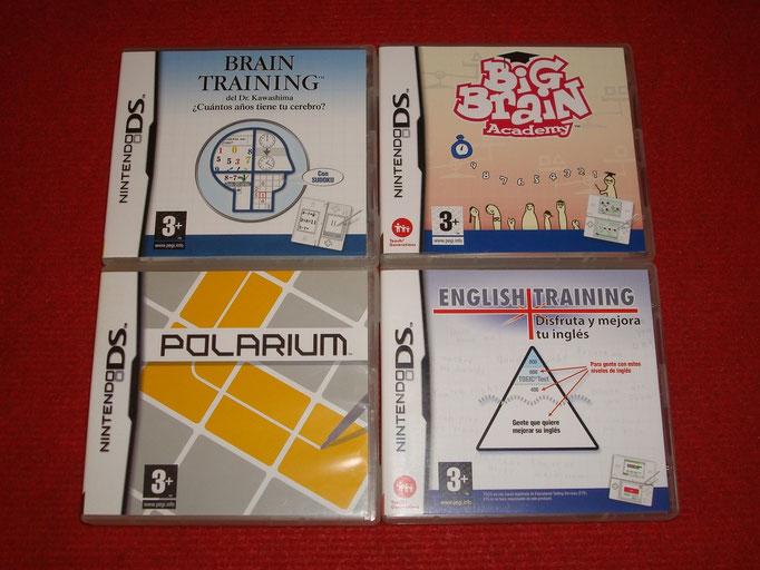 Mis videojuegos mentales para la Nintendo DS
