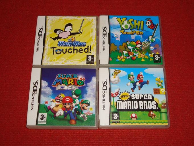 Mis videojuegos de Super Mario para la Nintendo DS