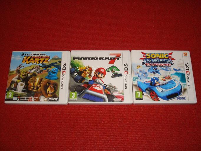 Mis videojuegos de karts para la Nintendo 3DS