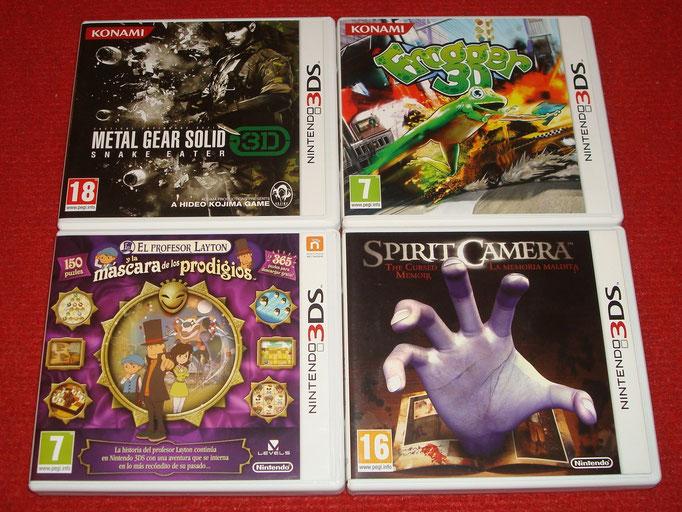 Mis videojuegos de aventuras para la Nintendo 3DS