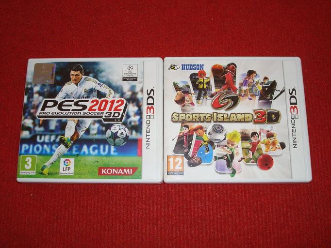 Mis videojuegos de deportes para la Nintendo 3DS