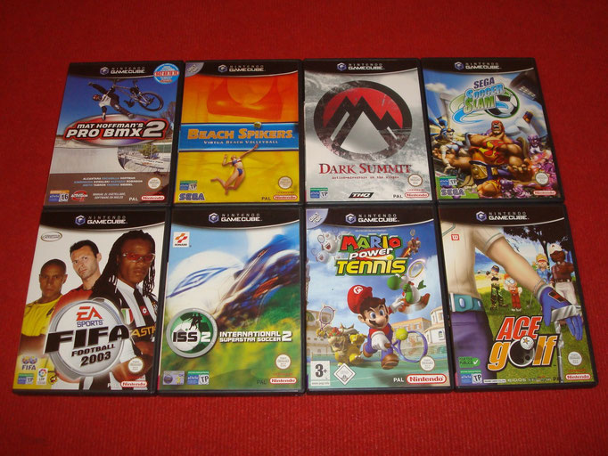 Mis videojuegos de Game Cube (deportes)