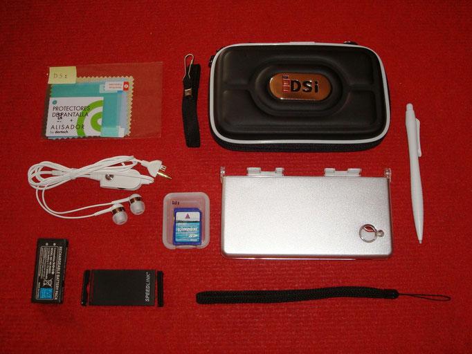 Accesorios extras de la Nintendo DSi