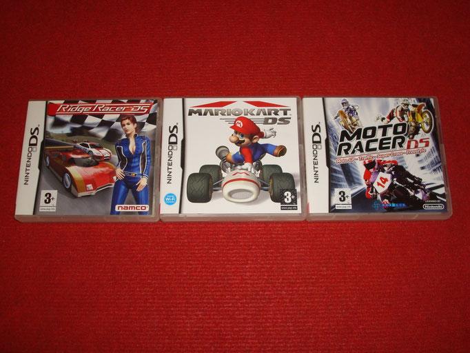 Mis videojuegos de coches para la Nintendo DS