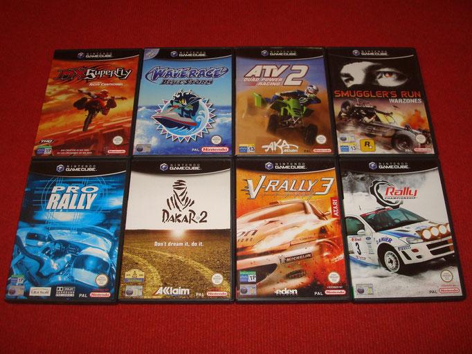 Mis videojuegos de Game Cube (off Road)