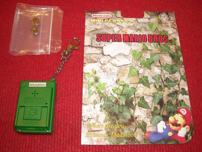 Contenido del blister del Super Mario Bros.