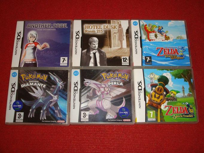 Mis videojuegos de RPG para la Nintendo DS