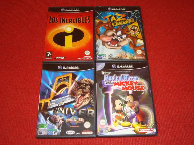 Mis videojuegos de Game Cube (junior)