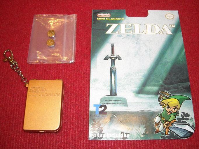 Contenido del blister del Zelda