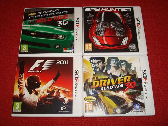 Mis videojuegos de coches para la Nintendo 3DS (2)