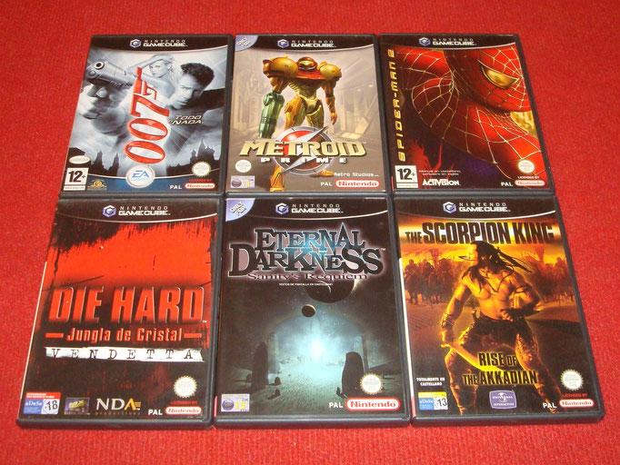 Mis videojuegos de Game Cube (arcade y aventuras)