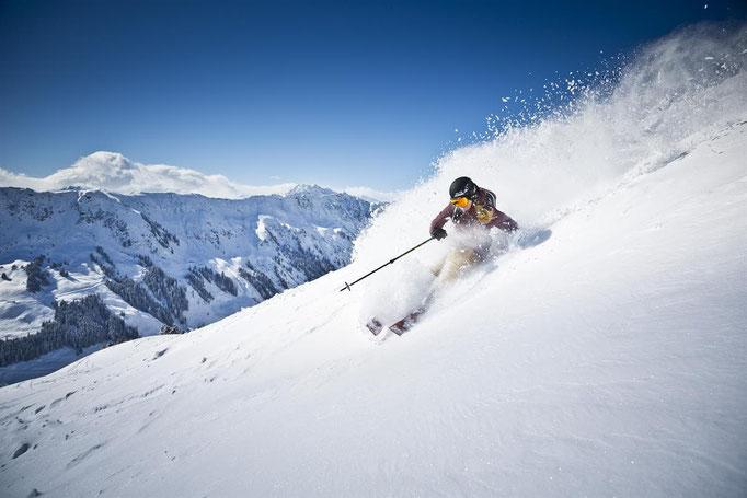 Skiurlaub in Saalbach im Appartement Schönfeld