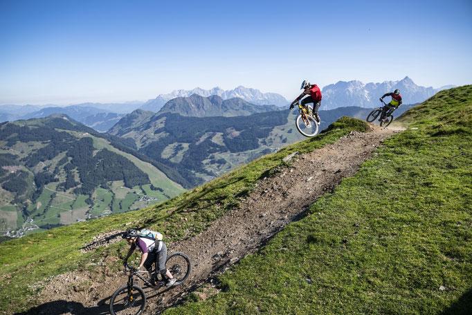 Biking in Saalbach