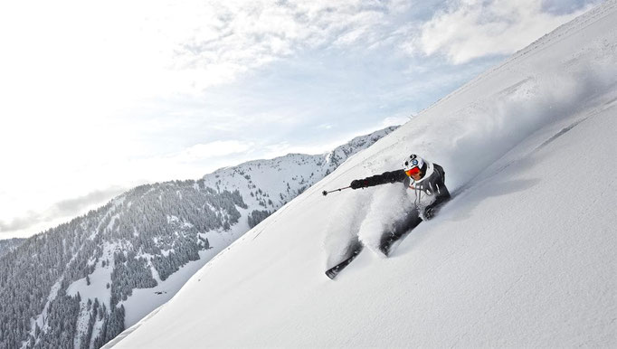 das größte zusammenhängende Skigebiet der Kitzbüheler Alpen