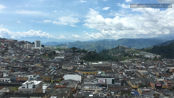 Paisaje de la ciudad de Manizales-Caldas, Colombia 2018