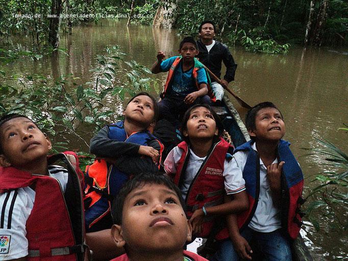 Indígenas integran conocimientos ancestrales a las aulas de clase