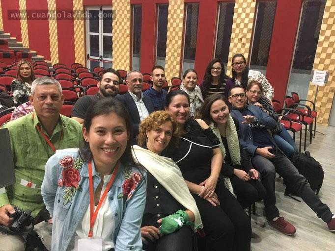 Participantes Talleres Infancias y Juventudes, Juventudes y Políticas Públicas, VIII Escuela Internacional de Posgrados, Manizales-Caldas, Colombia,2018