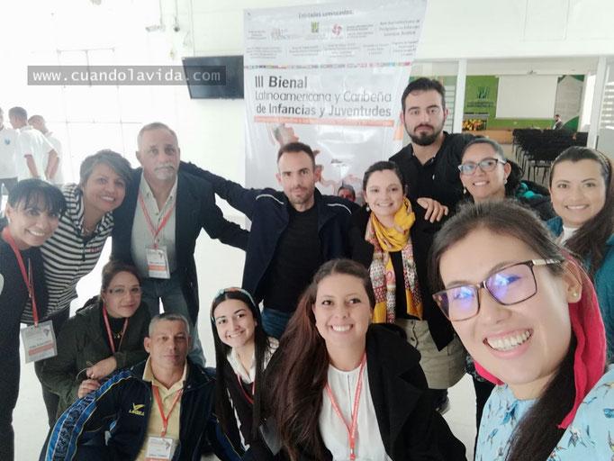 Taller Infancias y Juventudes, VIII Escuela Internacional de Posgrados en Manizales-Caldas, Colombia, 2018