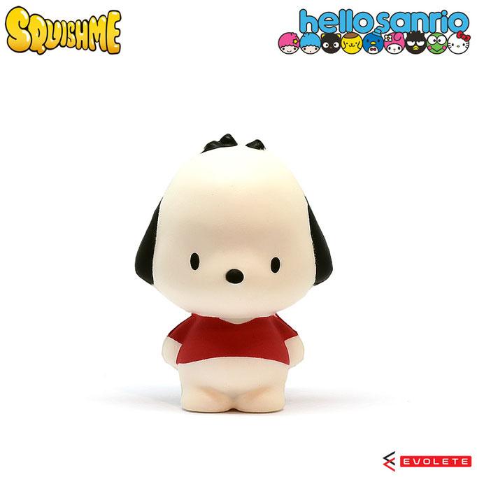 Hello Sanrio SquishMe (Pochacco)