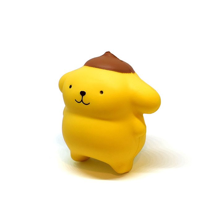 Hello Sanrio SquishMe (Pompompurin)
