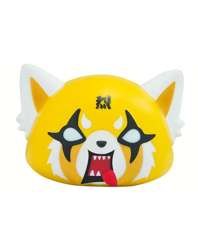 Sanrio Aggretsuko SquishMe サンリオ アグレッシブ烈子 スクイッシュ・ミー マスコット
