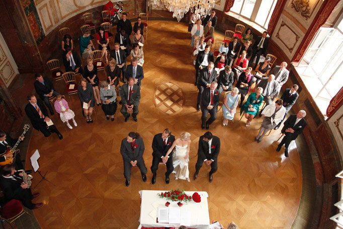 Standesamtliche Trauung im Palais Kinsky 2