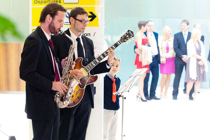 Hochzeit am Flughafen Wien
