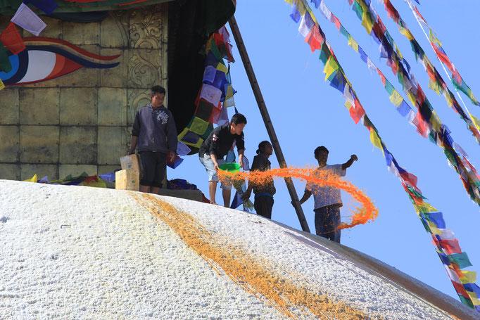 die Große Stupa in Boudha