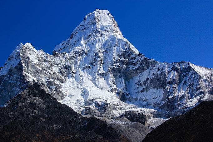 die Ama Dablam (6812m über NN), einer der schönsten Berge