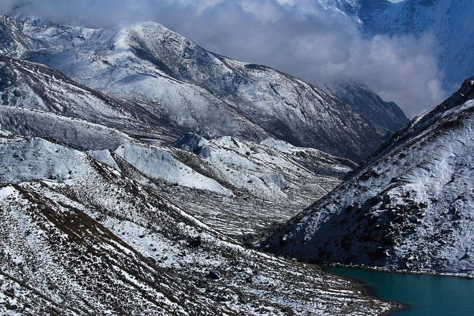 Dritter See bei Gokyo (4860m über NN)