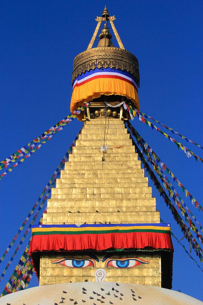 der Große Stupa von Boudha, UNESCO-Welterbe